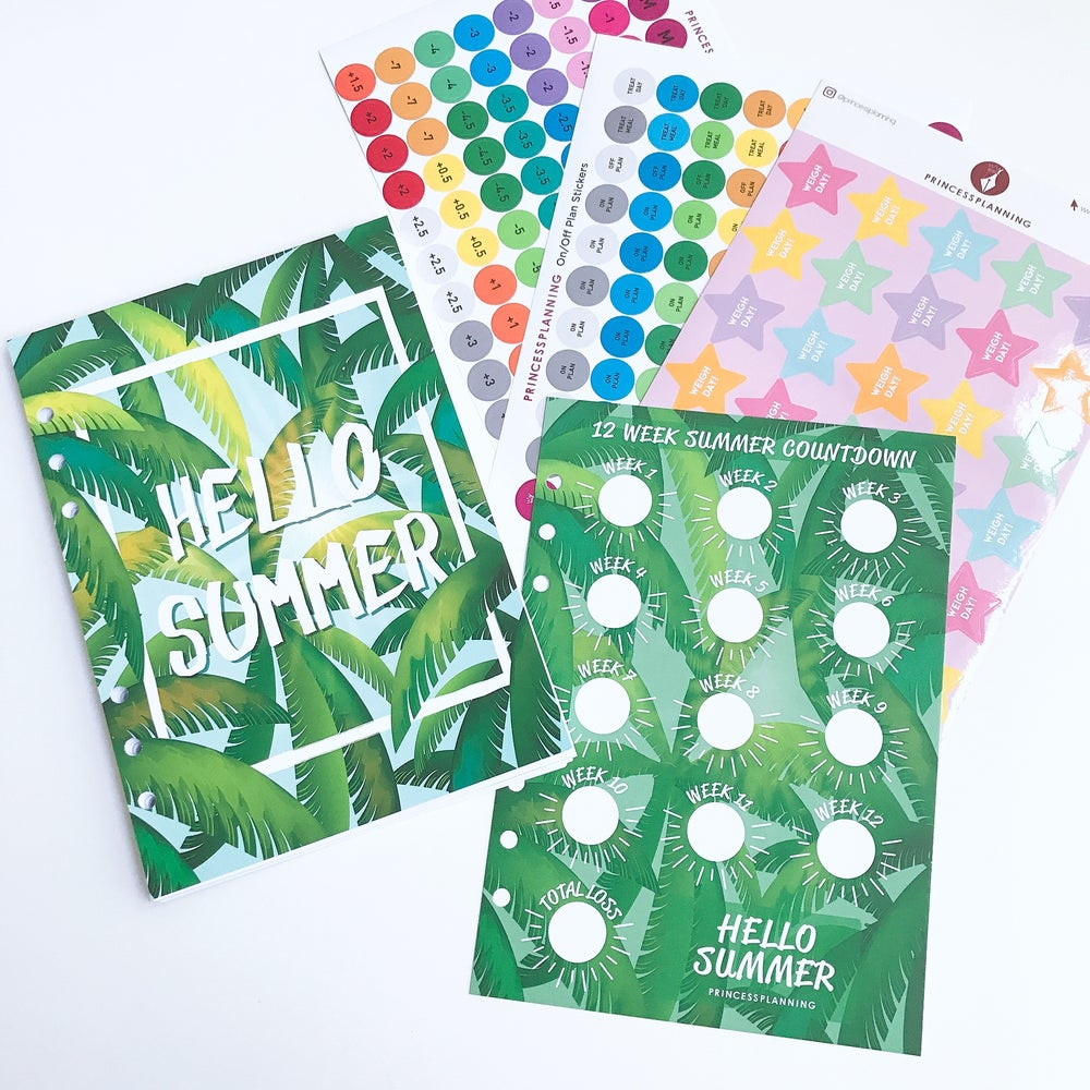 Image of SUMMER FOOD DIARY ORGANISER BUNDLE
