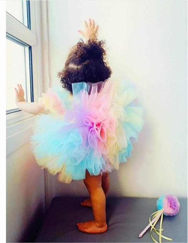 Image of Glitter Pastel Rainbow