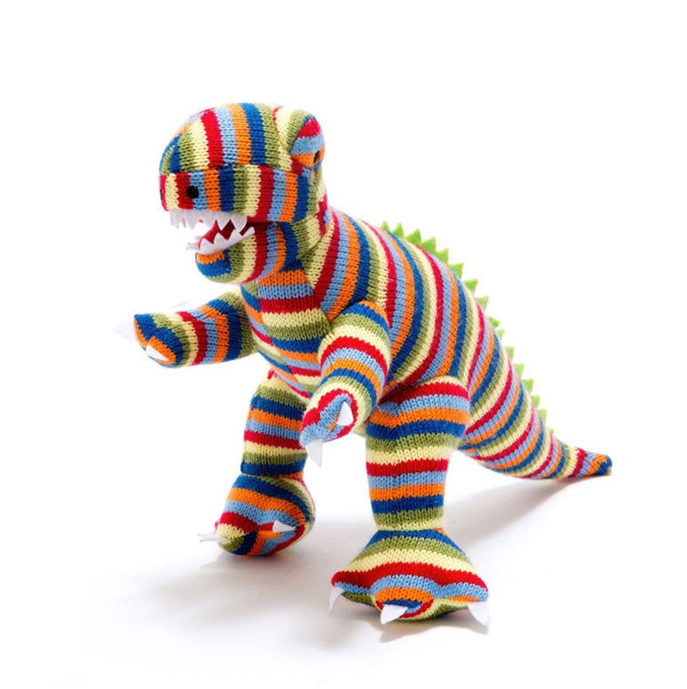 Image of Dinosaur Stripy Rattle
