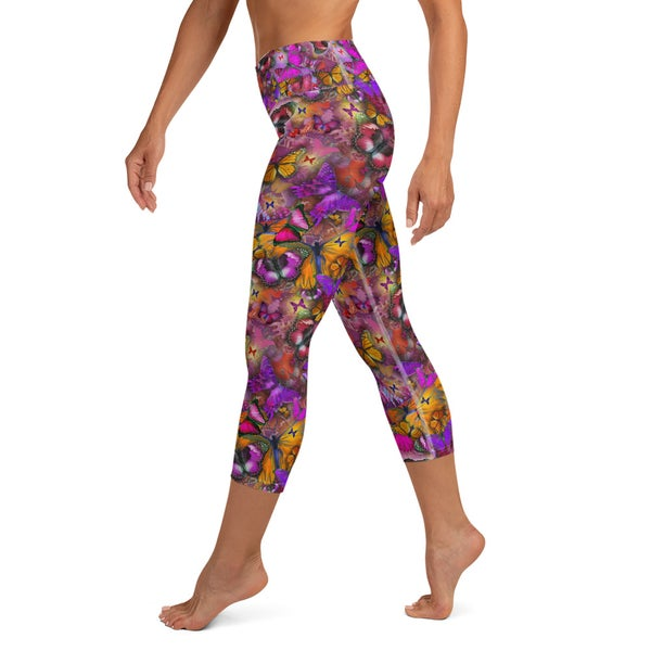 Image of Yoga Capri Leggings