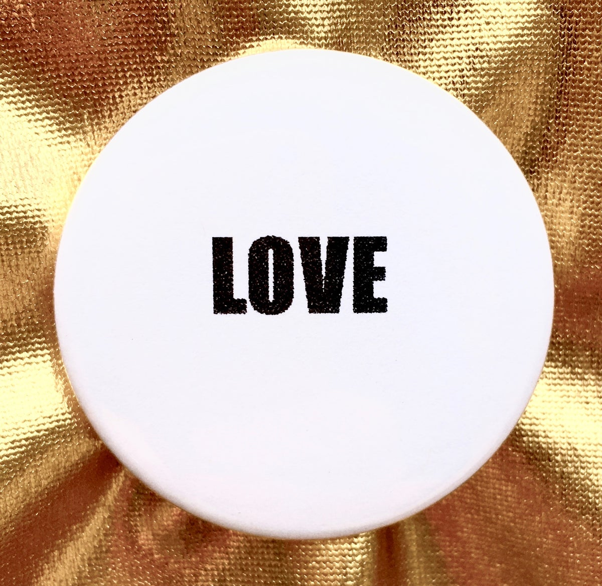 Image of BUTTON #25 (LOVE)