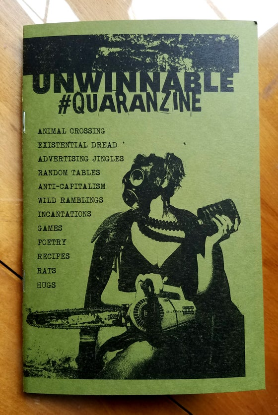 Image of Unwinnable #Quaranzine