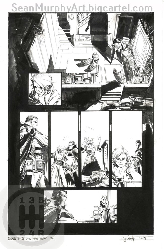 Image of Batman: Curse of the White Knight #7, page 4
