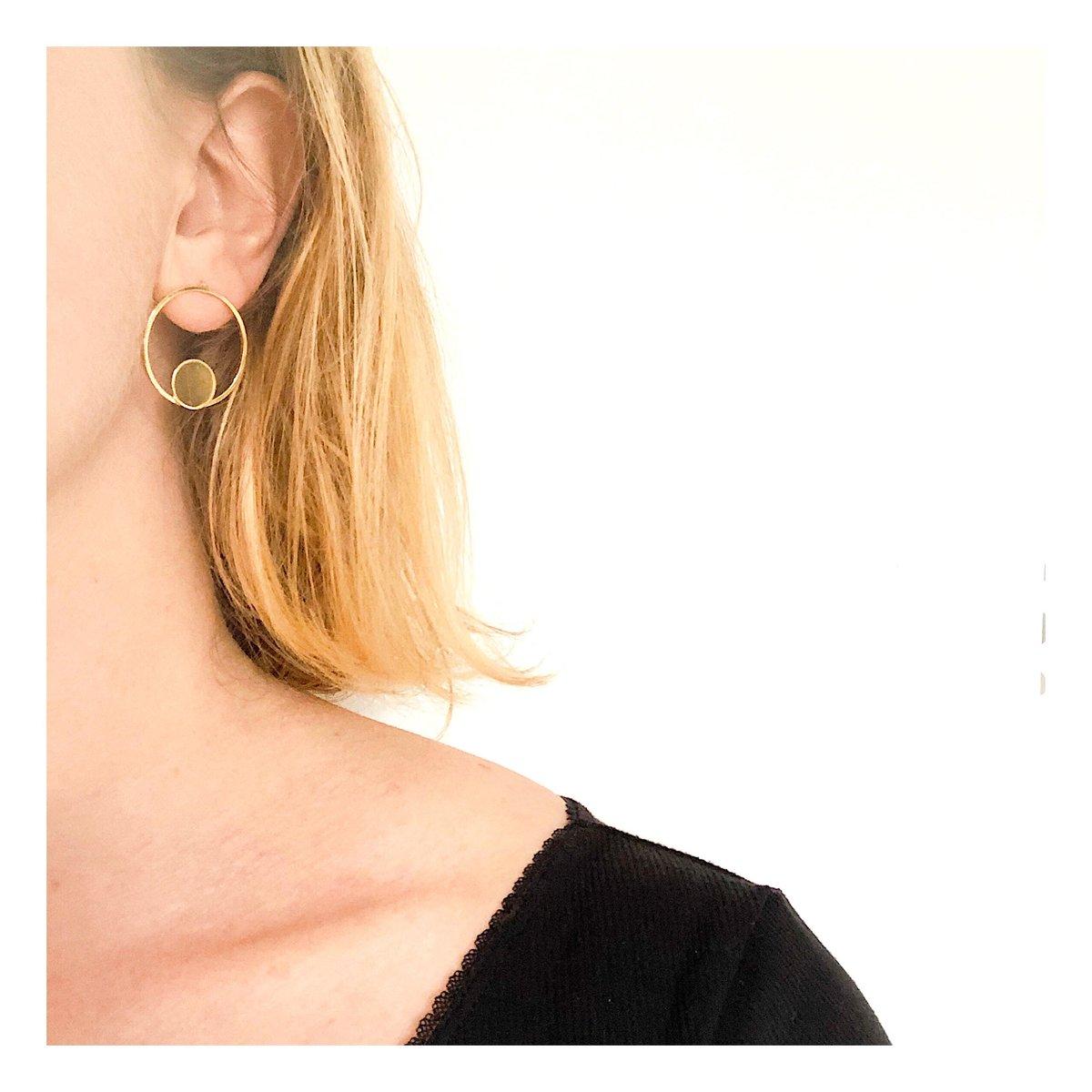 Boucles d'oreilles Jeanne