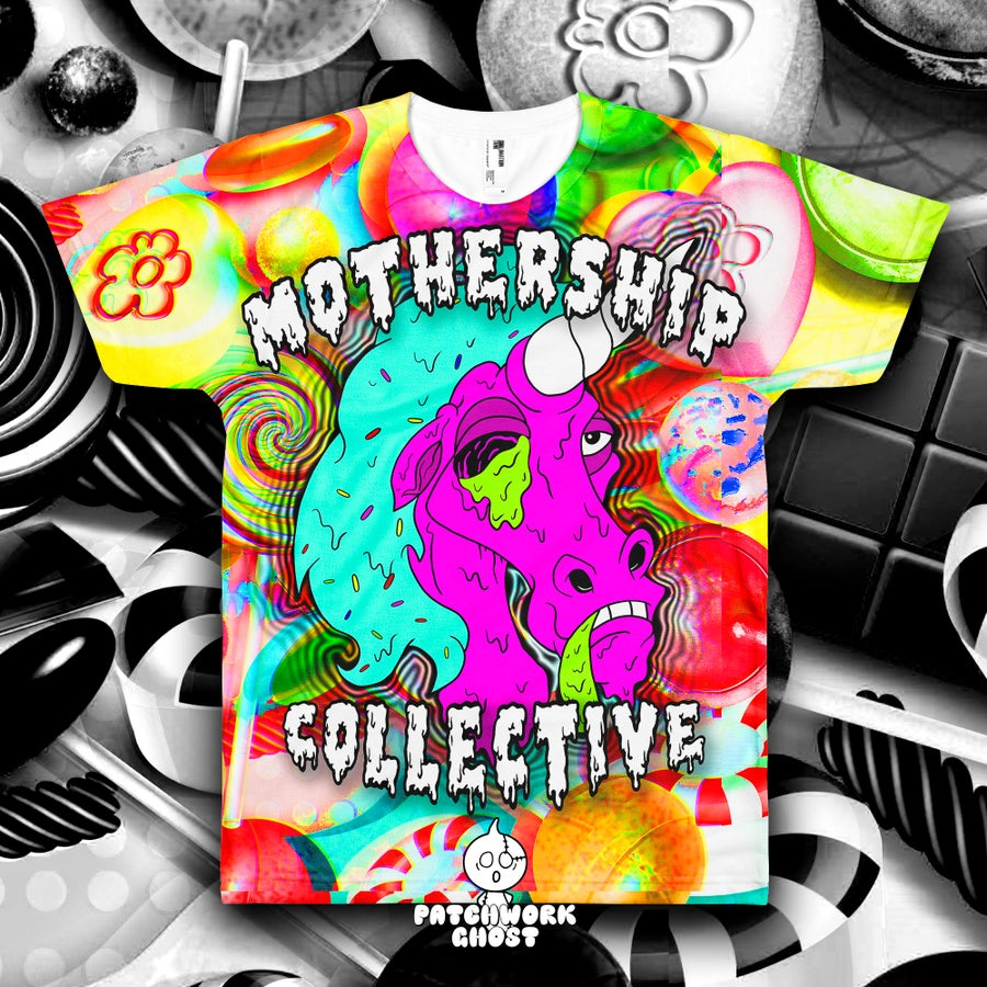 Image of Unicorn Mothership Collective All Over Print Shirt