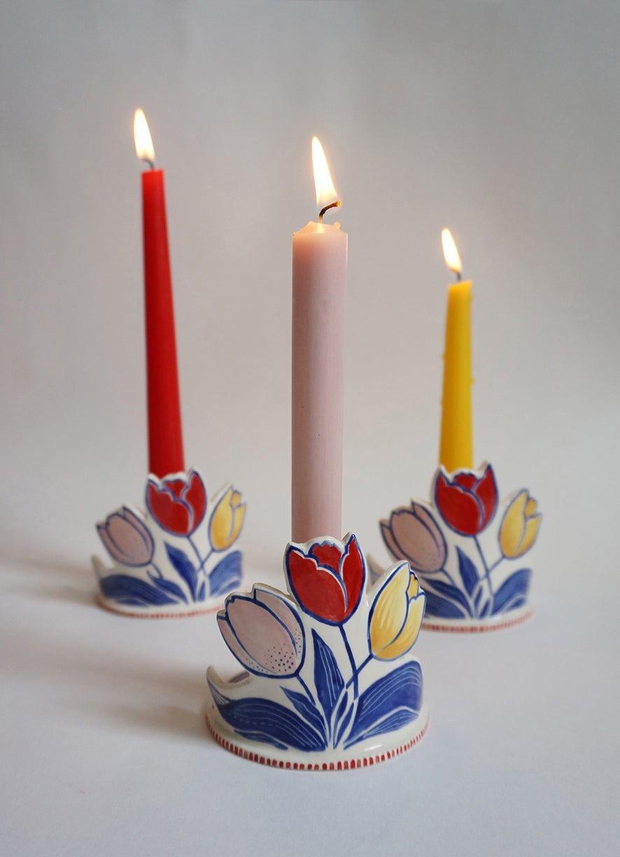 Image of Tulip Candle Holder
