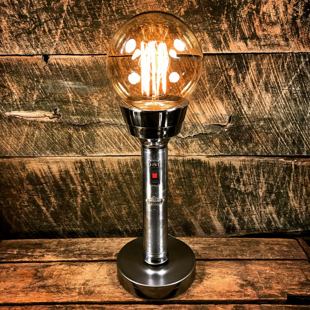 Image of Vintage Flashlight Lamp