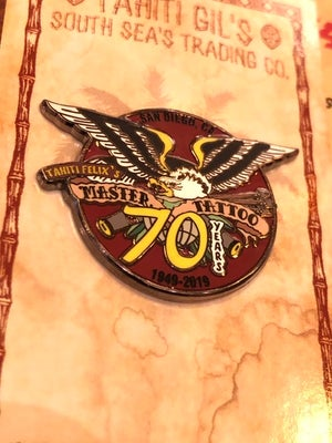 Image of 70th Anniversary Enamel Pin
