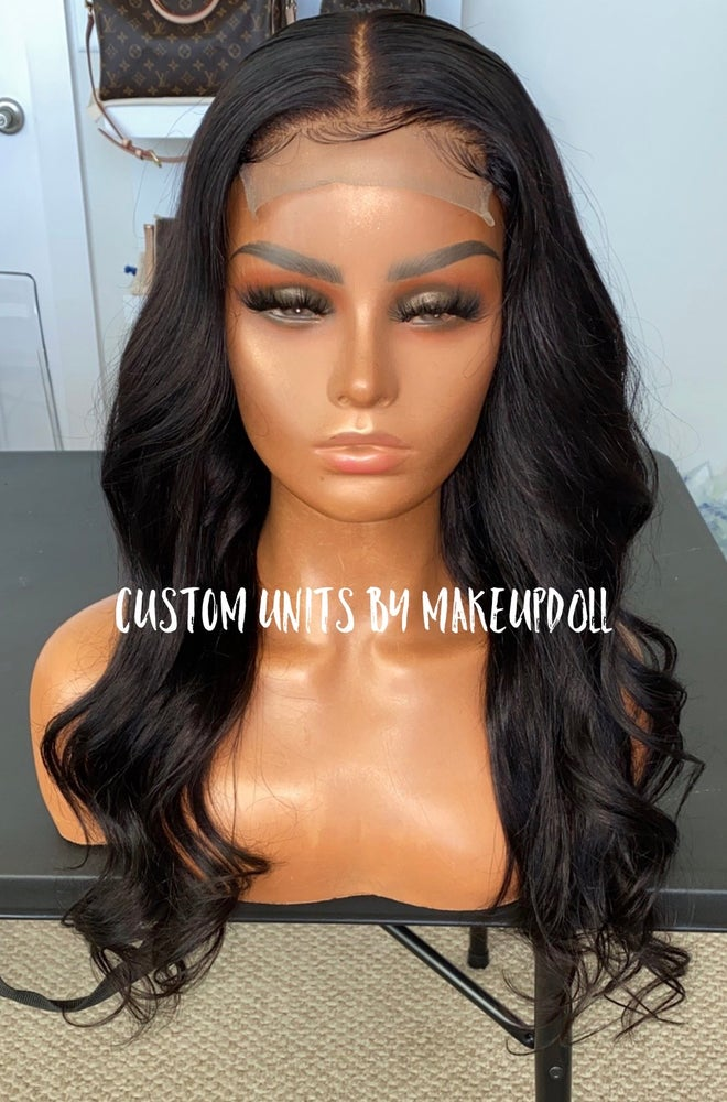 "Image of Brazilian Body Wave 20"" Lace Closure Wig"