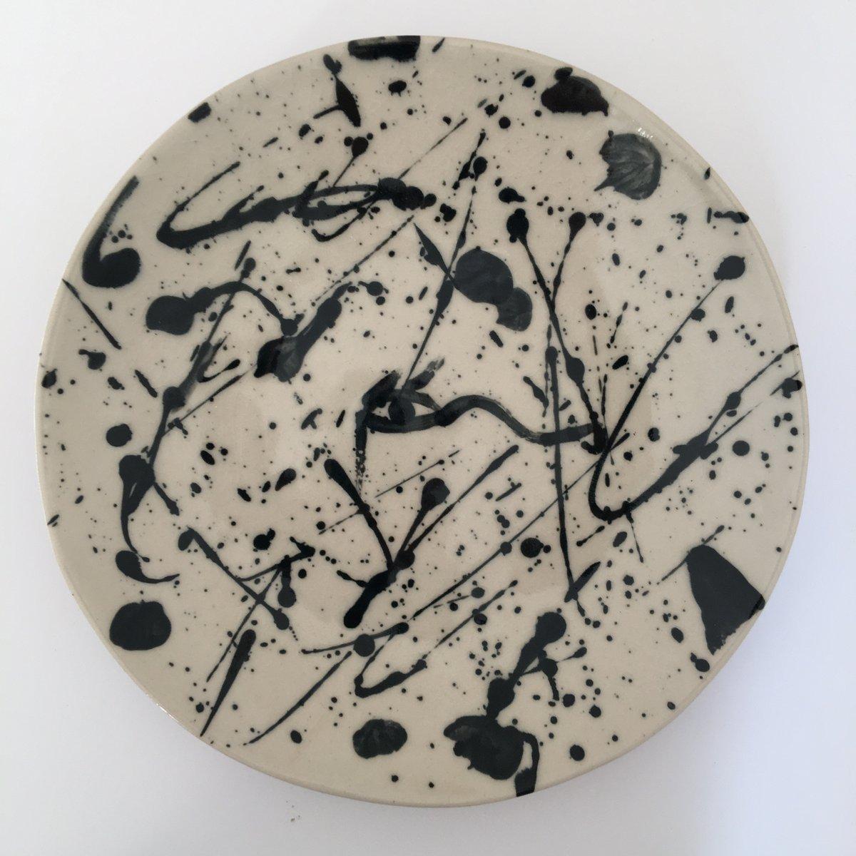 Splatter Plate with Eye