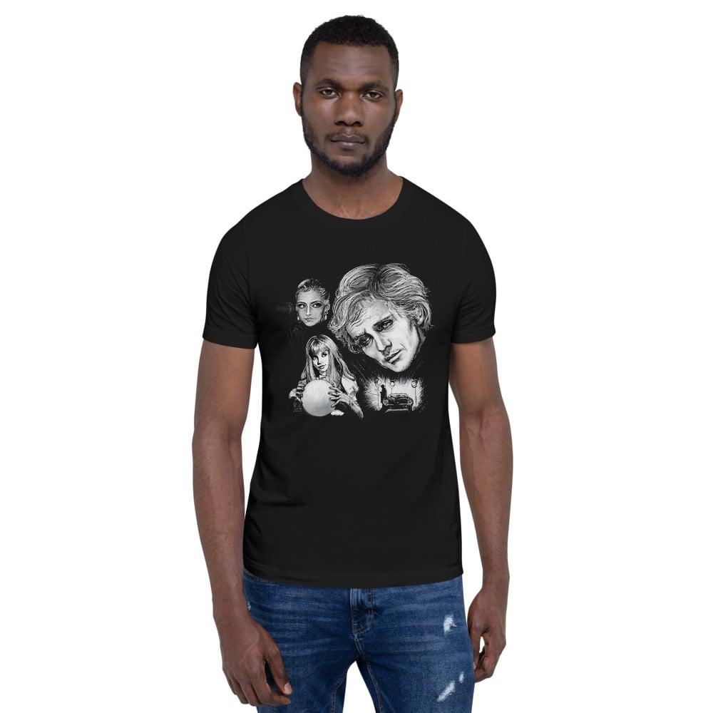 Toby Short-Sleeve Unisex Black T-Shirt