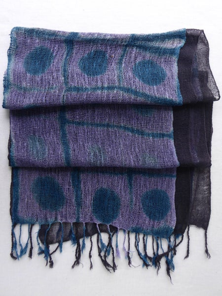 Image of Total Eclipse — Twin Cobweb Scarf