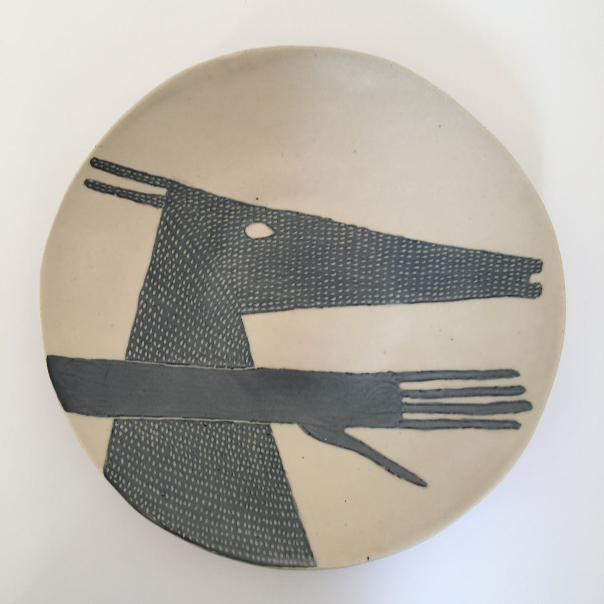 Hand and Deer plate