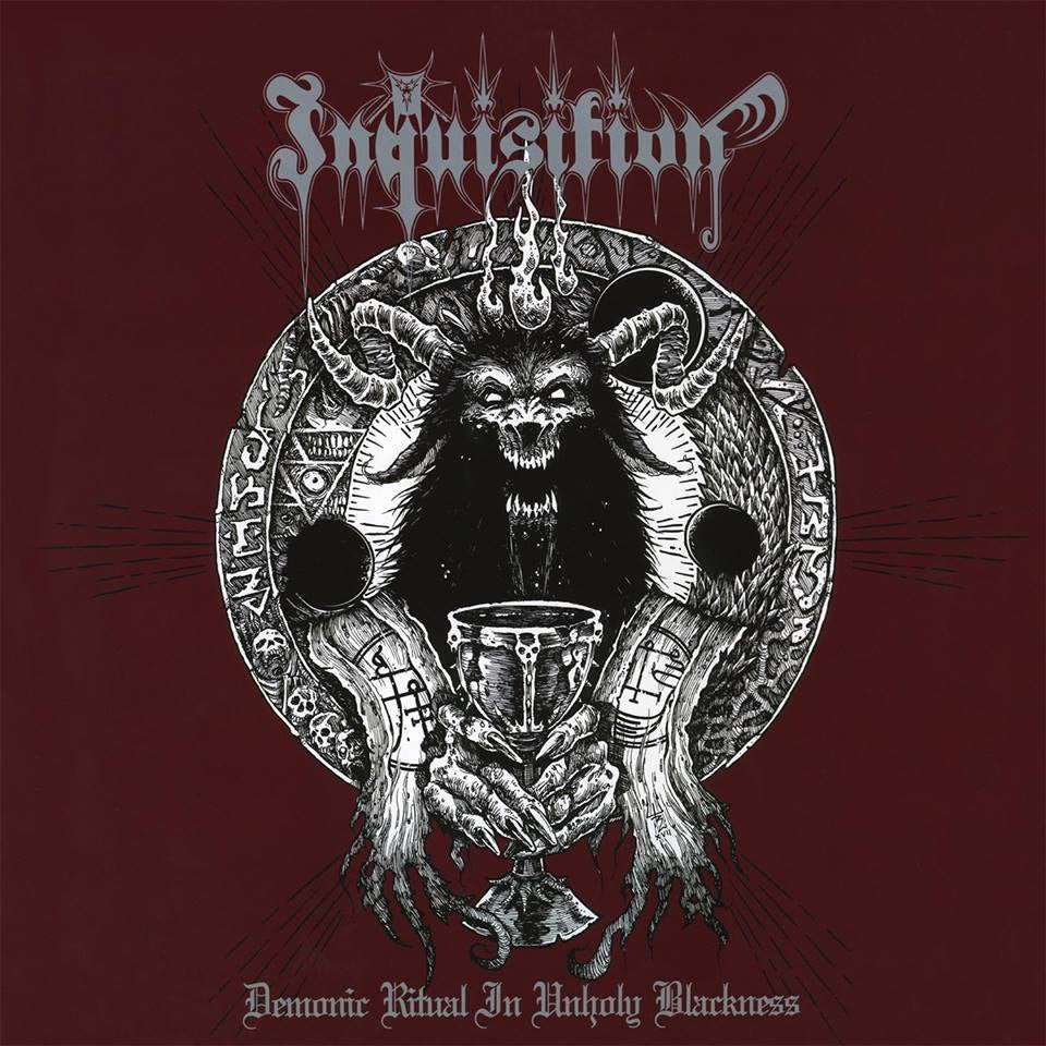 INQUISITION -Demonic Ritual In Unholy Blackness- LP (RED)