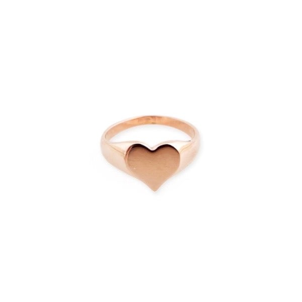 Image of Only Heart Signet Ring
