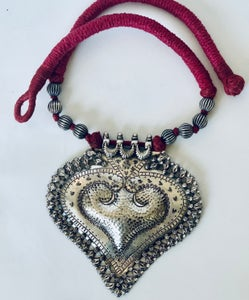Image of sterling silver heart
