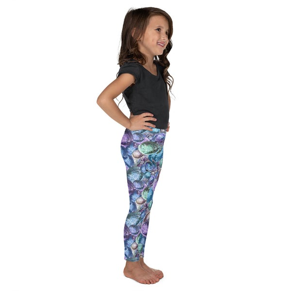 Image of Kid's Mermaid's Treasure Leggings