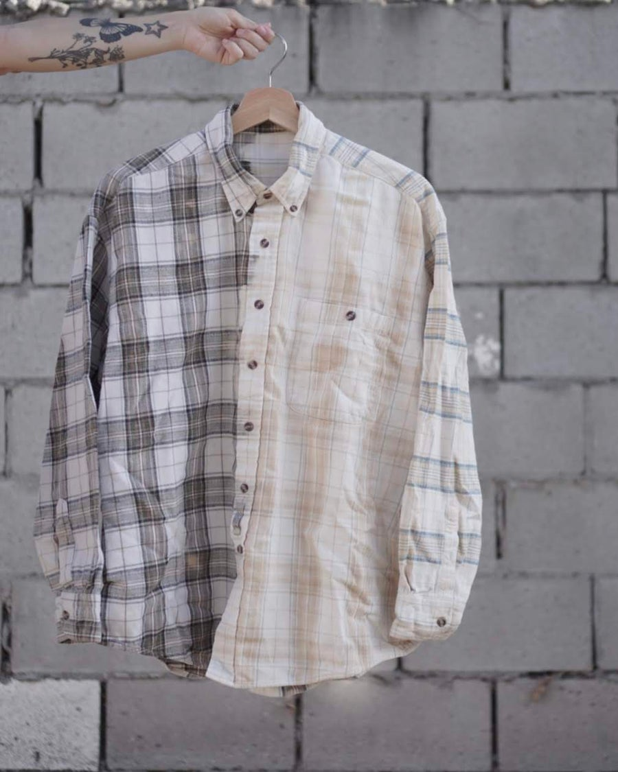 Image of winter vs summer flannel.