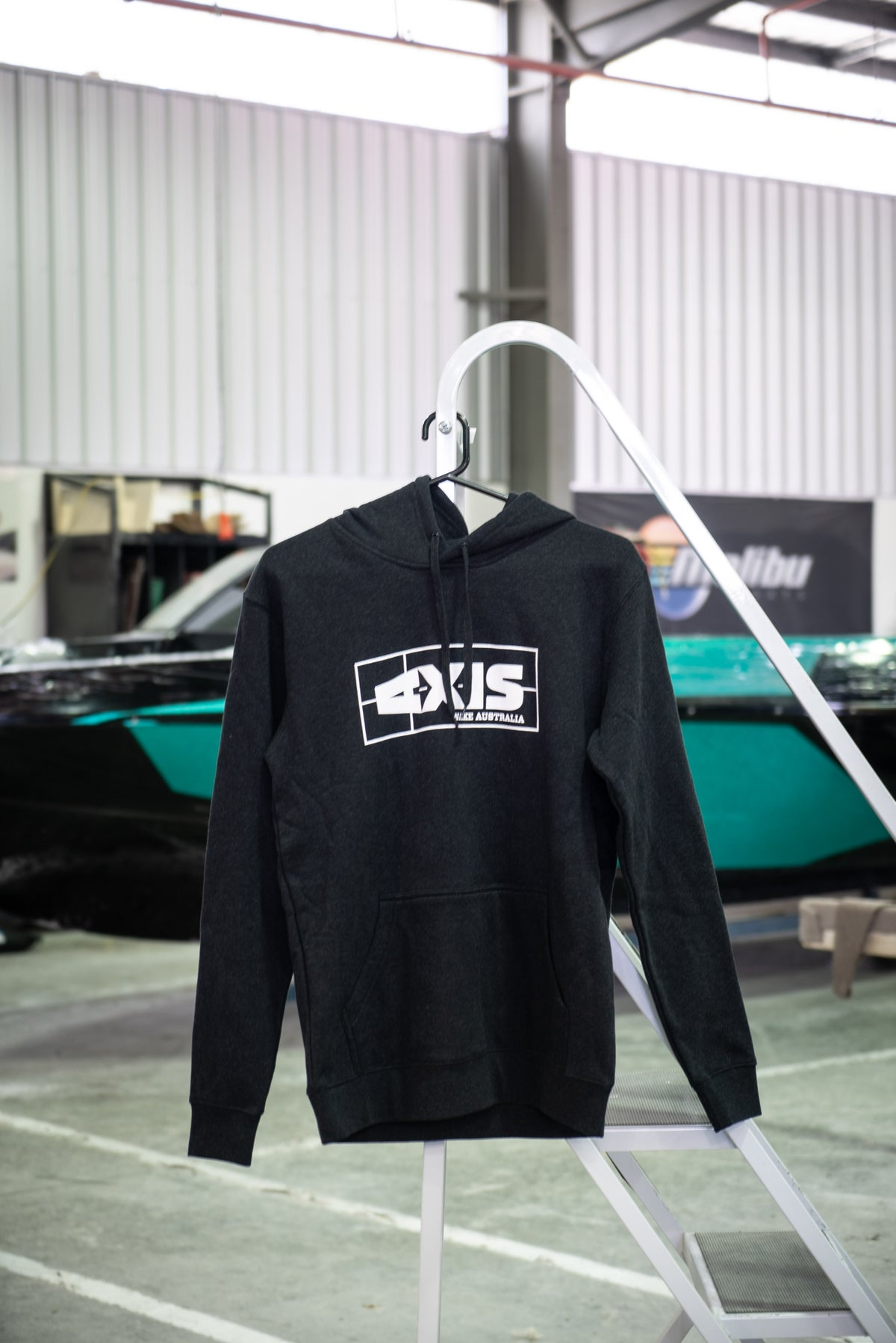 Image of Axis Classic Hoodie - Black Marle