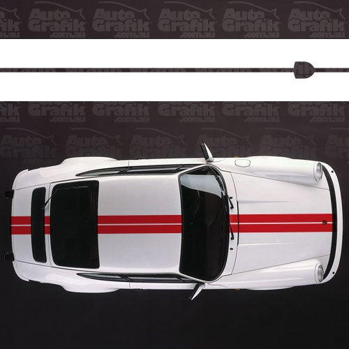 Image of SHORT/LONG HOOD OVER STRIPE DECAL KIT TYPE 1