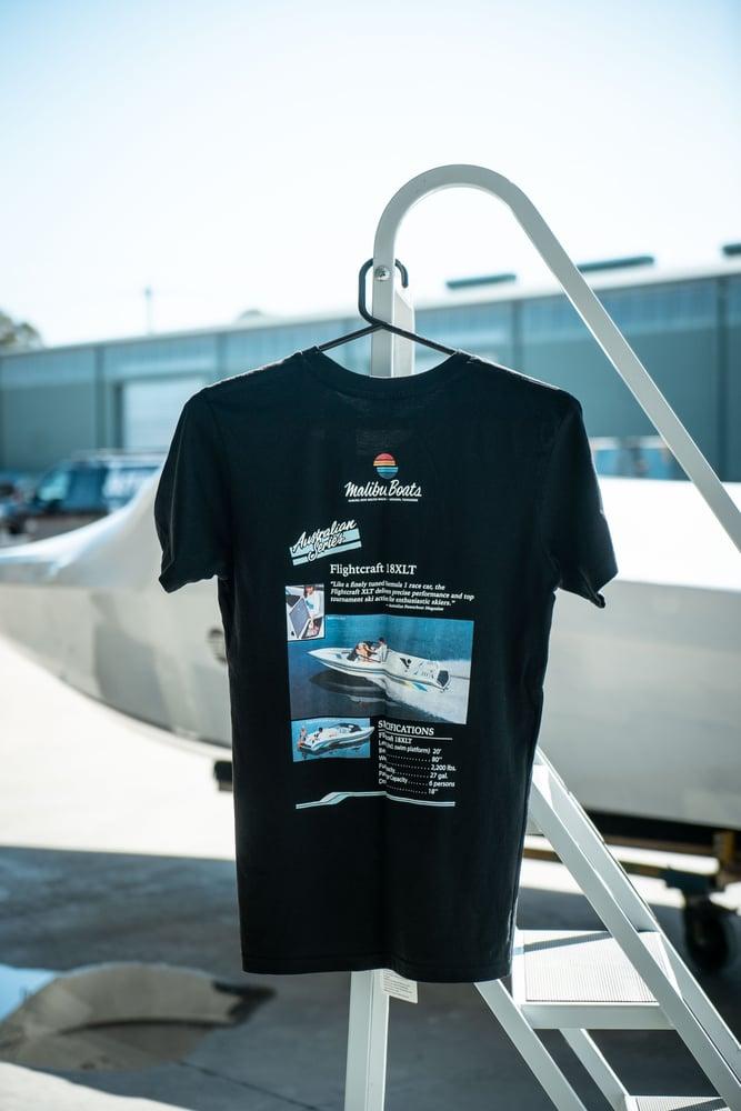 Image of Malibu Retro T-shirt - Black