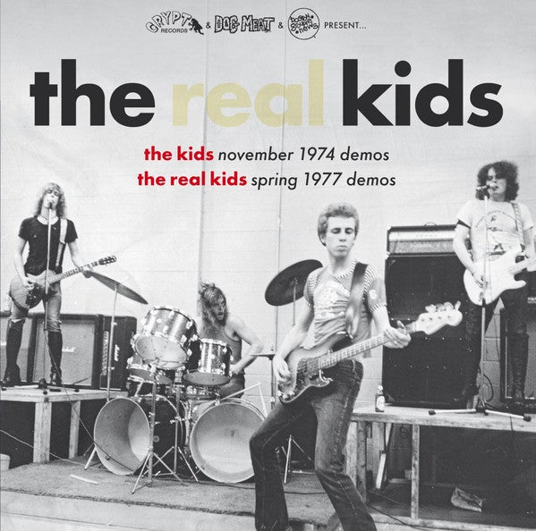 """Image of the REAL KIDS (& the KIDS)- """"Demos"""" LP"""