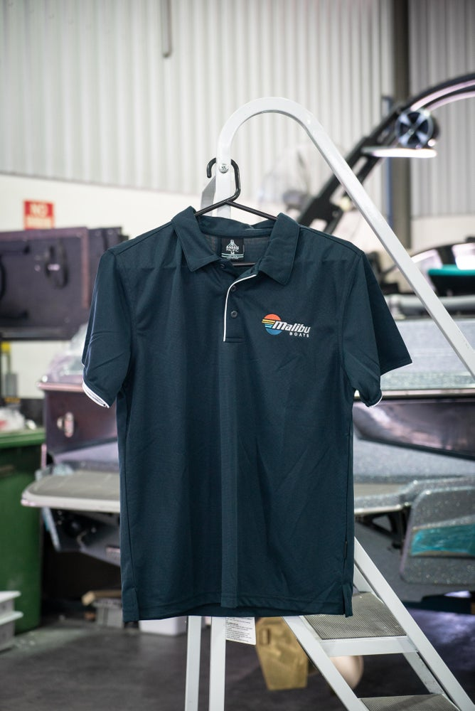 Image of Malibu Polo Top - Navy