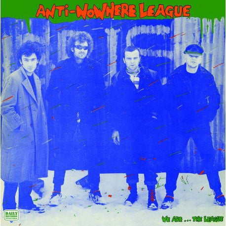 "Image of ANTI-NOWHERE LEAGUE - ""We Are... The League"" LP"