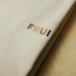 FRUI Multi-color Simple logo Tee