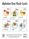 Alphabet Kiwi Flash cards