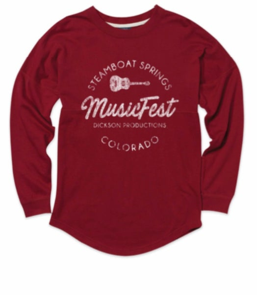 Image of MV Crimson Longsleeve