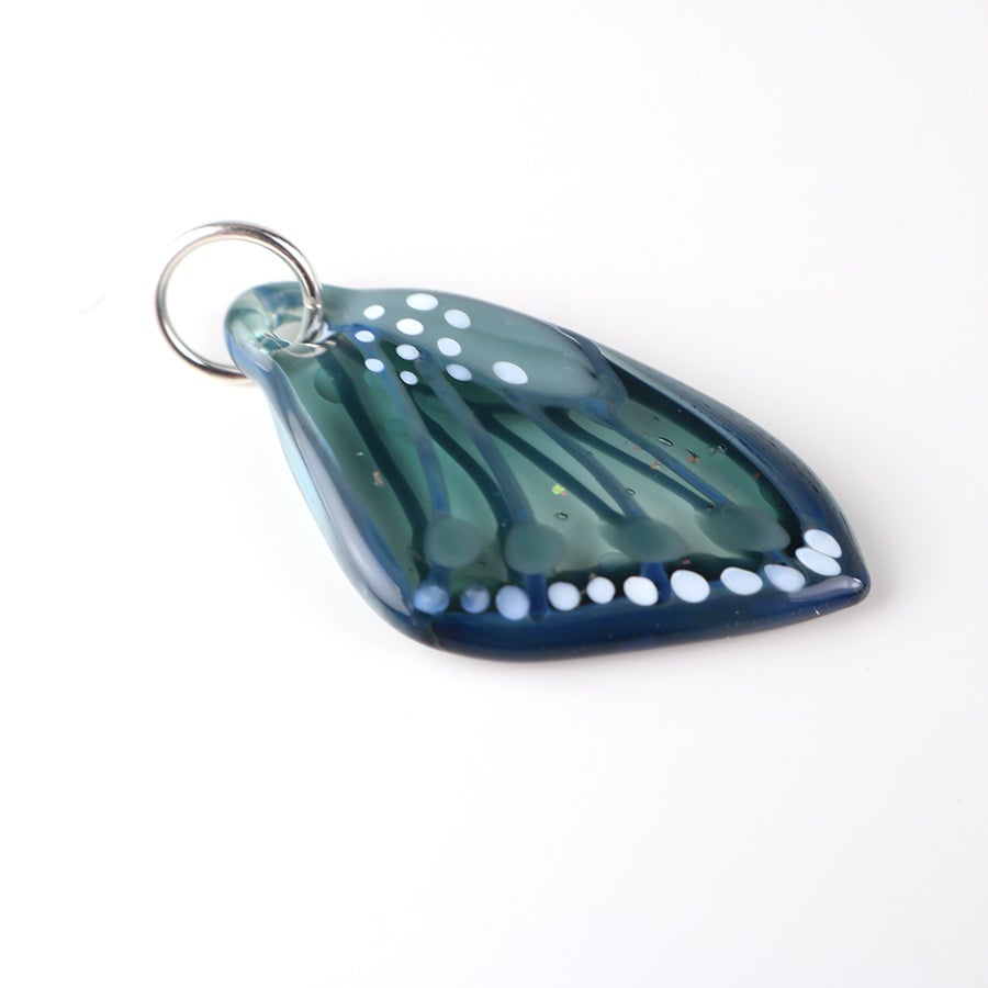 Transparent Aqua Butterfly Wing