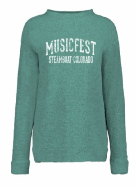 Image of Green Crew Neck Sweatshirt
