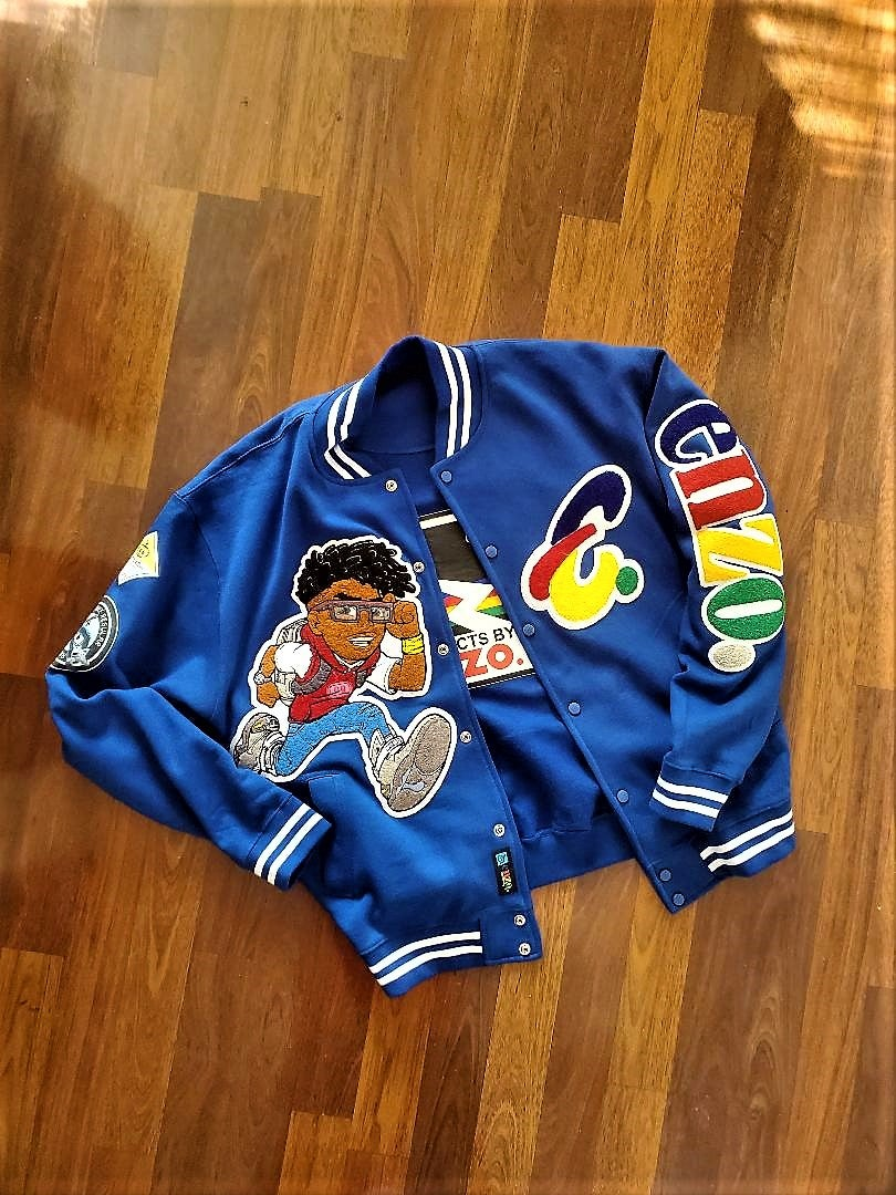 Image of Enzo Letterman Jacket (Version 2)