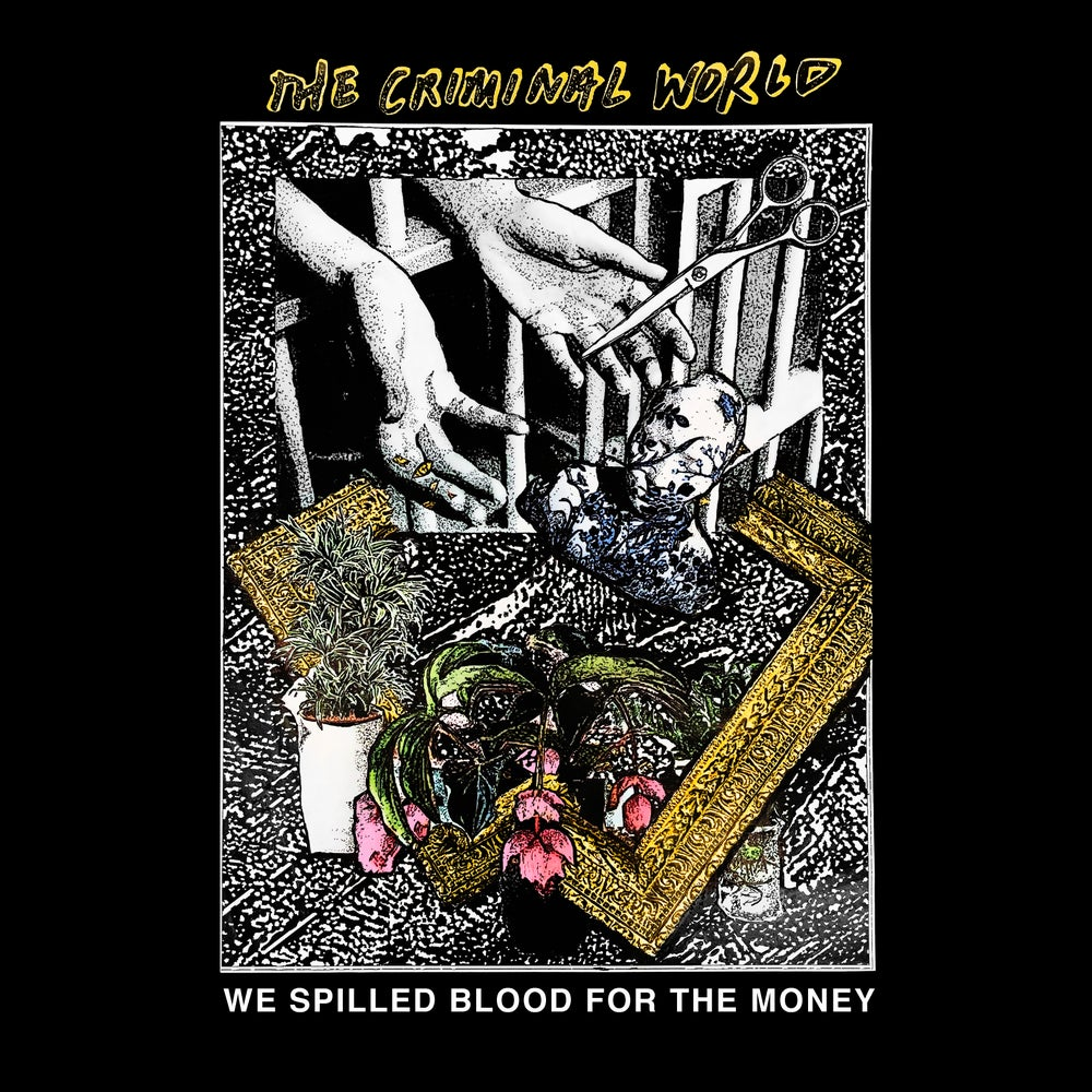 "The Criminal World - ""We Spilled Blood..."" LP"