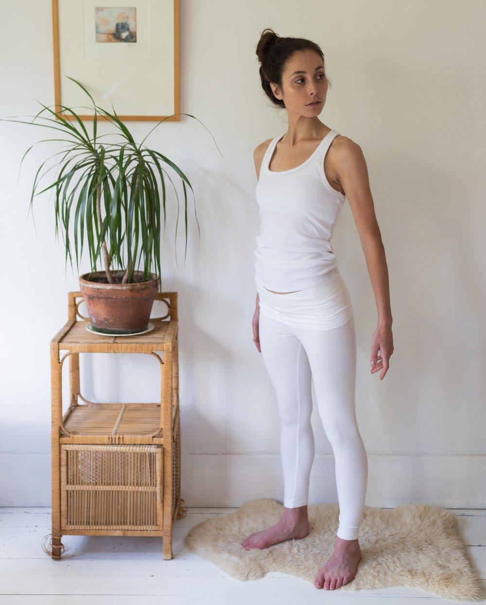 Image of Leggings - White