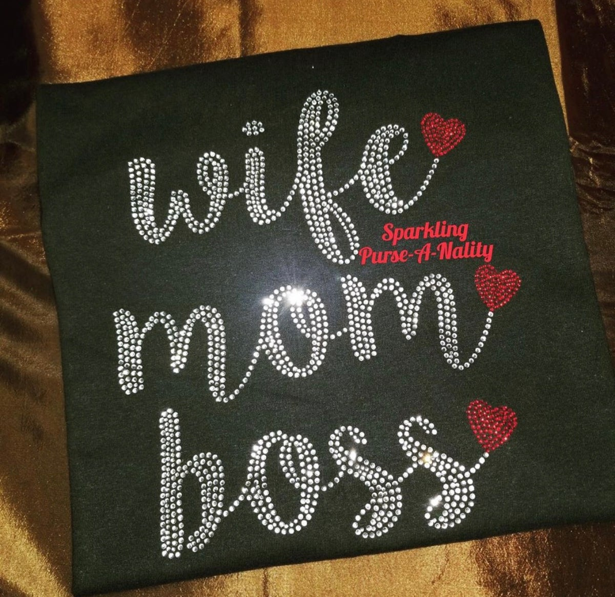"Image of ""Sparkling"" Wife Mom Boss"