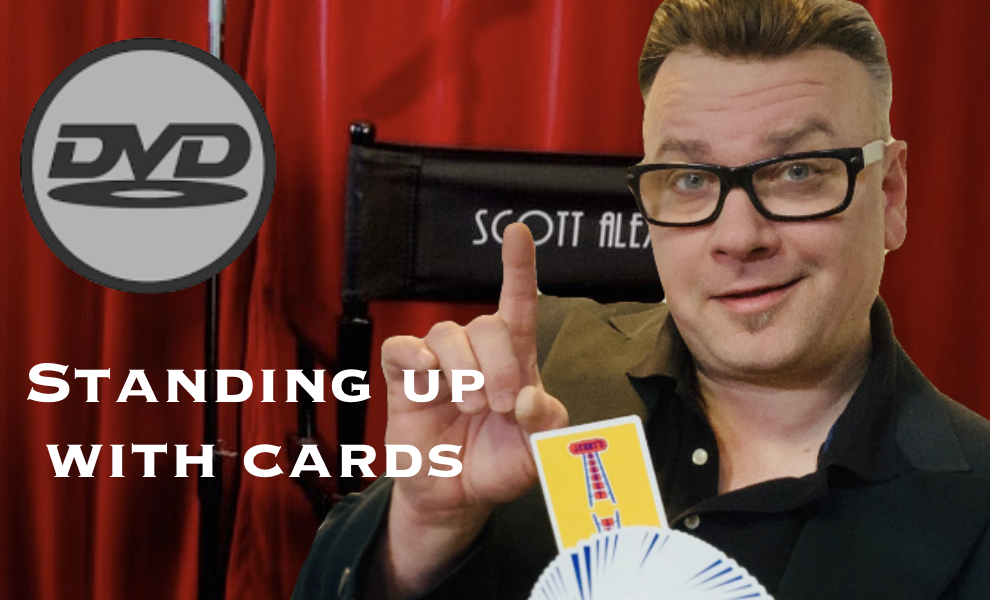 Image of Standing Up With Cards -  PHYSICAL DVD