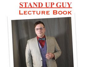 Image of 2019 Stand Up Guy BOOK