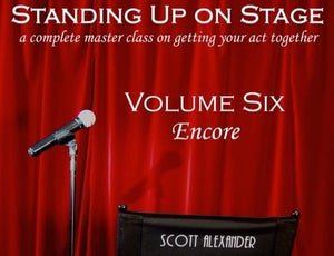 Image of Standing Up On Stage - Volume Six