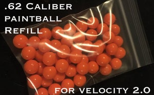 Image of 62. Caliber Paintballs (50 Count)
