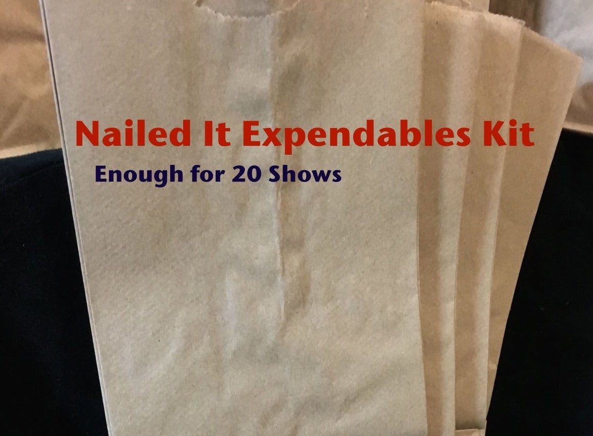 Image of Nailed It Expendables Kit - 20 Shows
