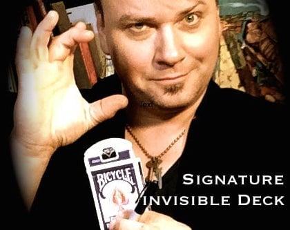 Image of Signature Invisible Deck