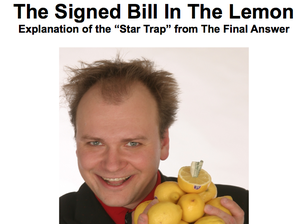Image of The Signed Bill in the Lemon Notes - 2010