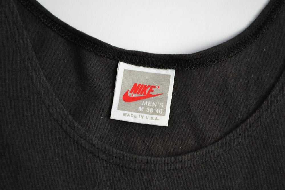 Image of Vintage 1989 Nike Air Jordan Spell Out Tank Top Sz.M