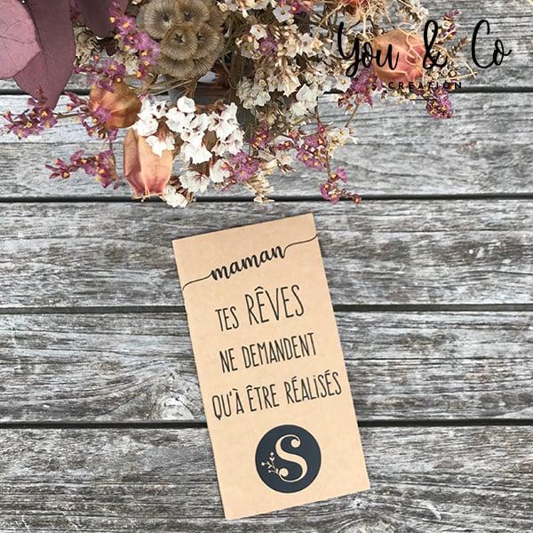 """Image of Carnet de notes personnalisable spécial """"fête des mères"""""""
