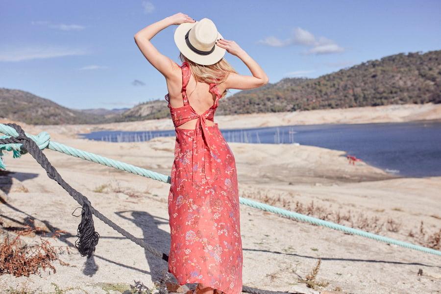Image of Vestido Hawai Rojo