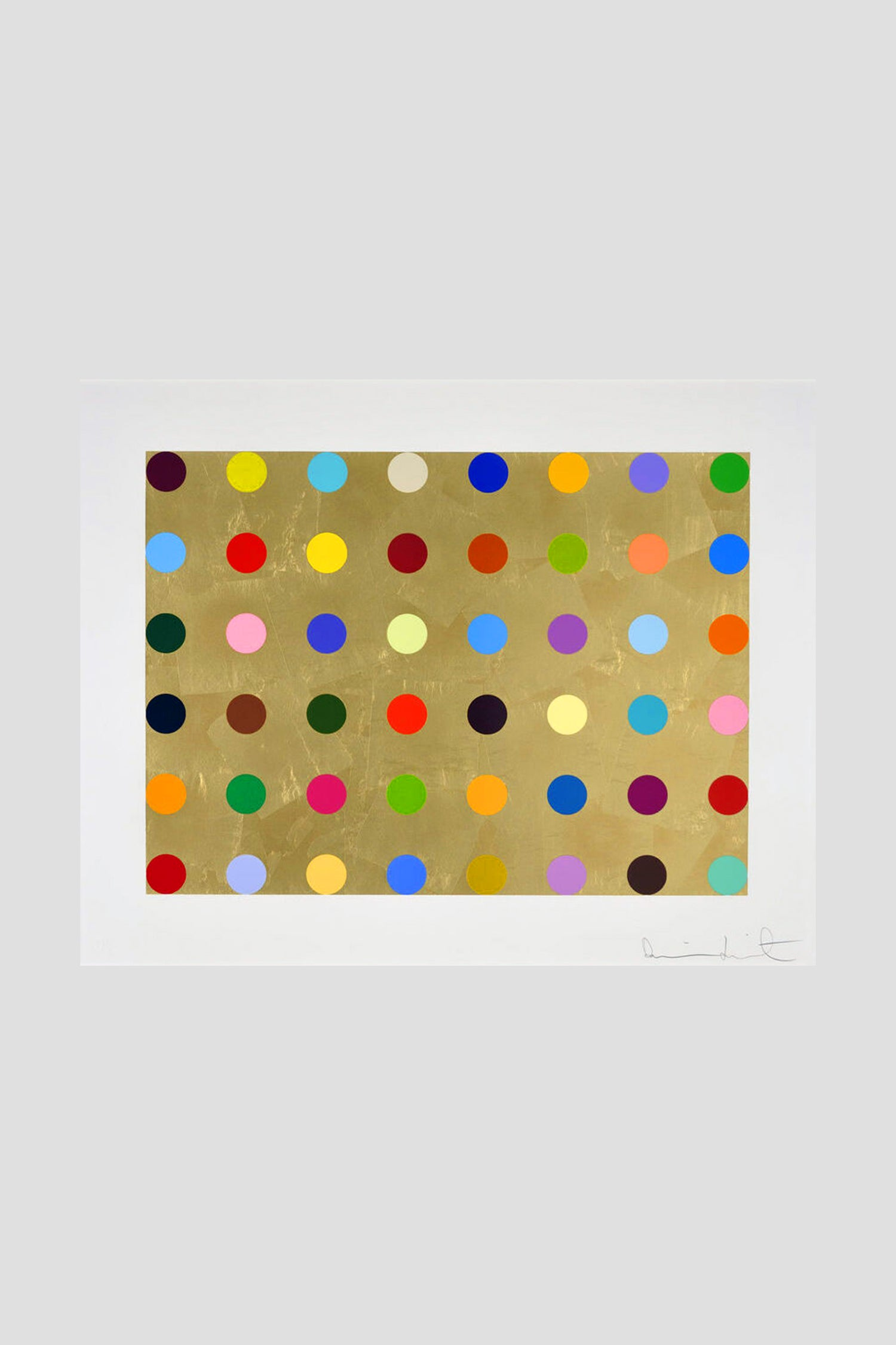 Image of Damien Hirst - Gold Thioglucose