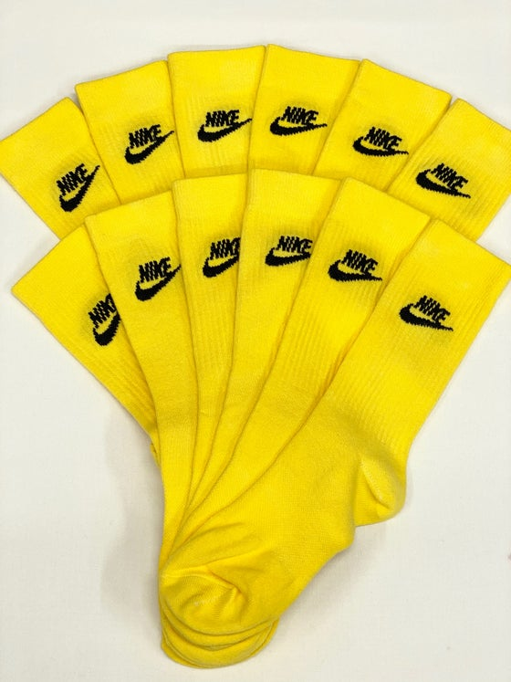 Image of YELLOW SOCKS  BY MAISON MERE