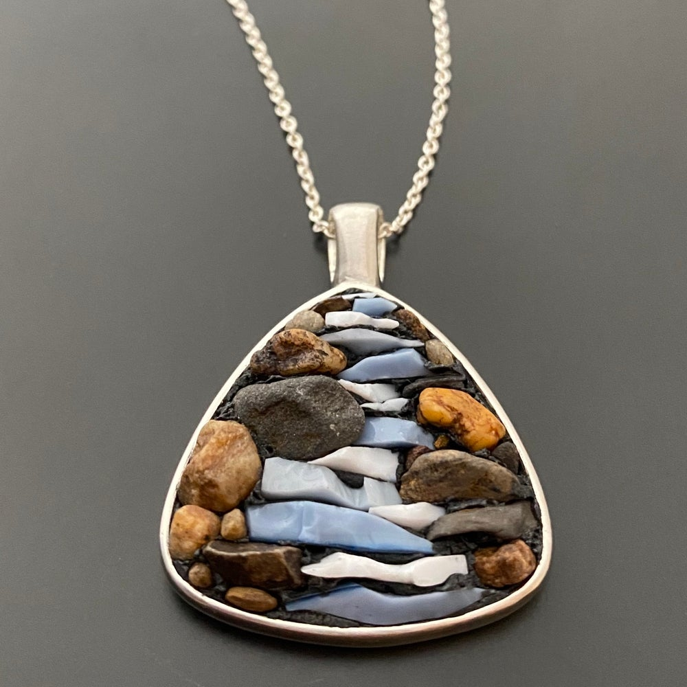 Image of River and Rock Pendant
